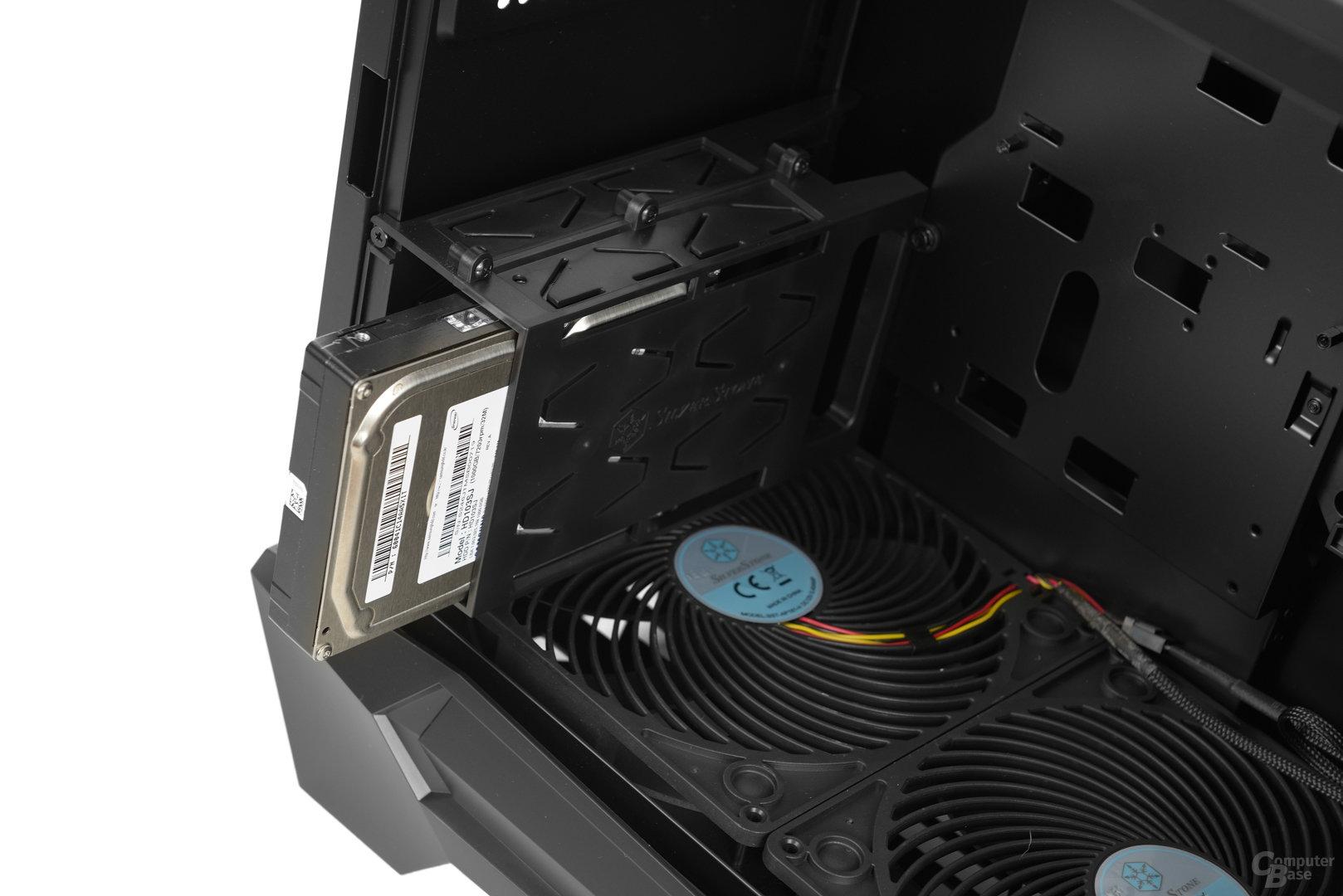 "Silverstone Raven 05 - Modularer 3,5""-Festplattenkäfig"