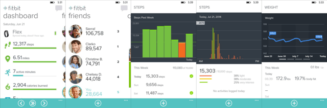 Fitbit-App für Windows Phone 8.1