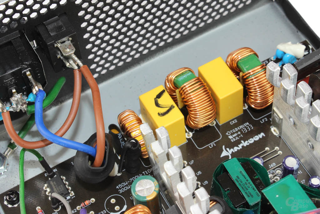 Sharkoon WPM V2 500 Watt – Eingangsfilterung