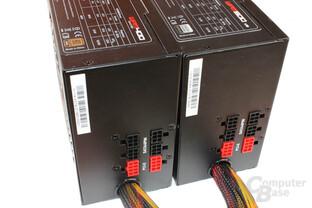 Steckplätze für das Kabelmanagement