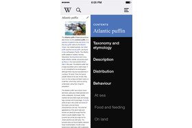 Wikipedia Mobile 4.0 für iOS
