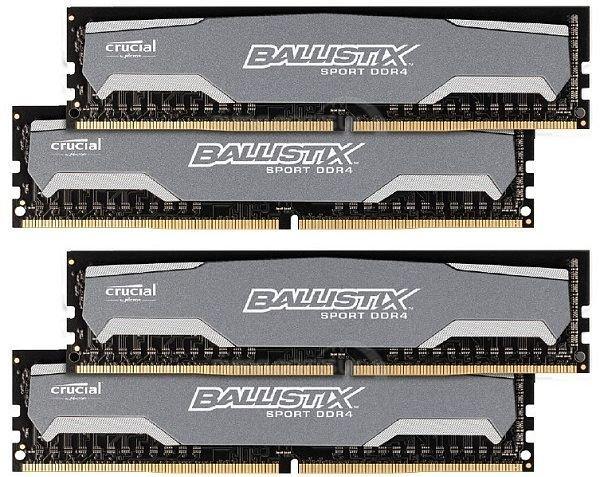 Crucial Ballistix Sport DDR4