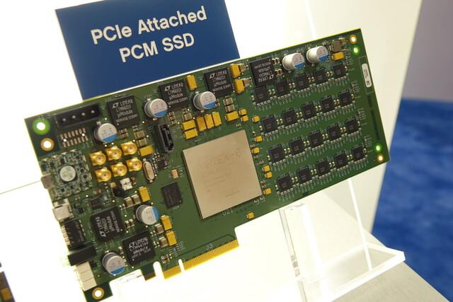 HGSTs SSD-Prototyp mit Phasenwechselspeicher