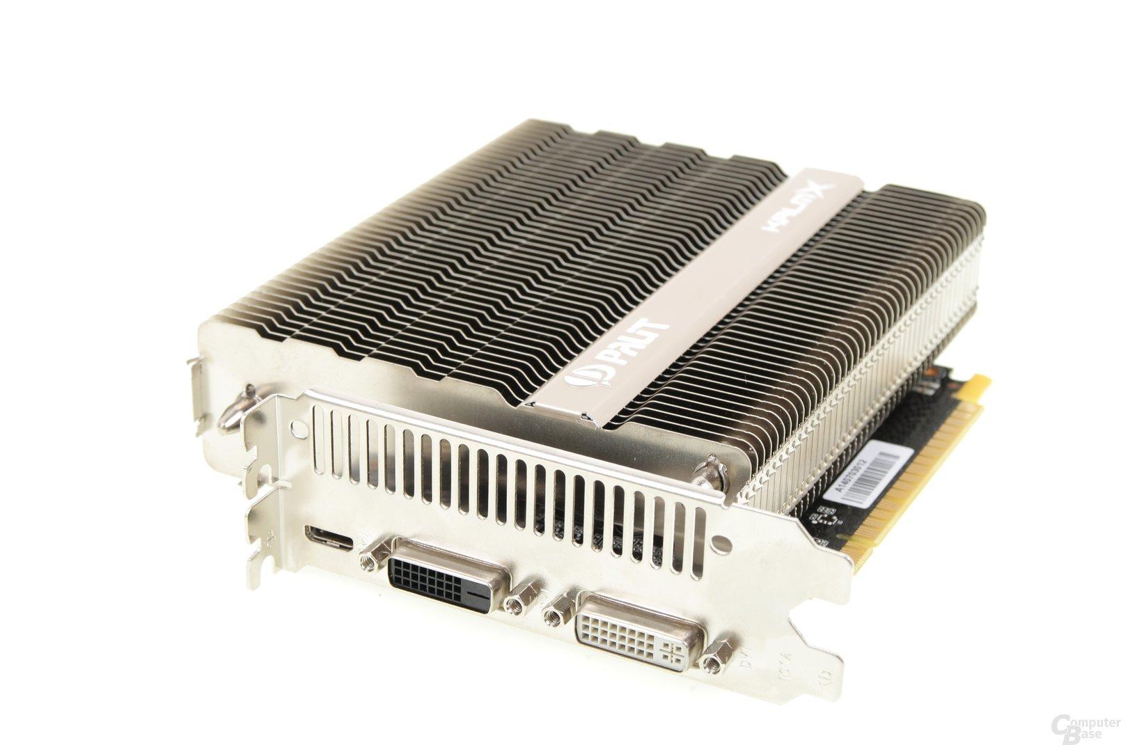 Palit GeForce GTX 750 Ti KalmX - Anschlüsse