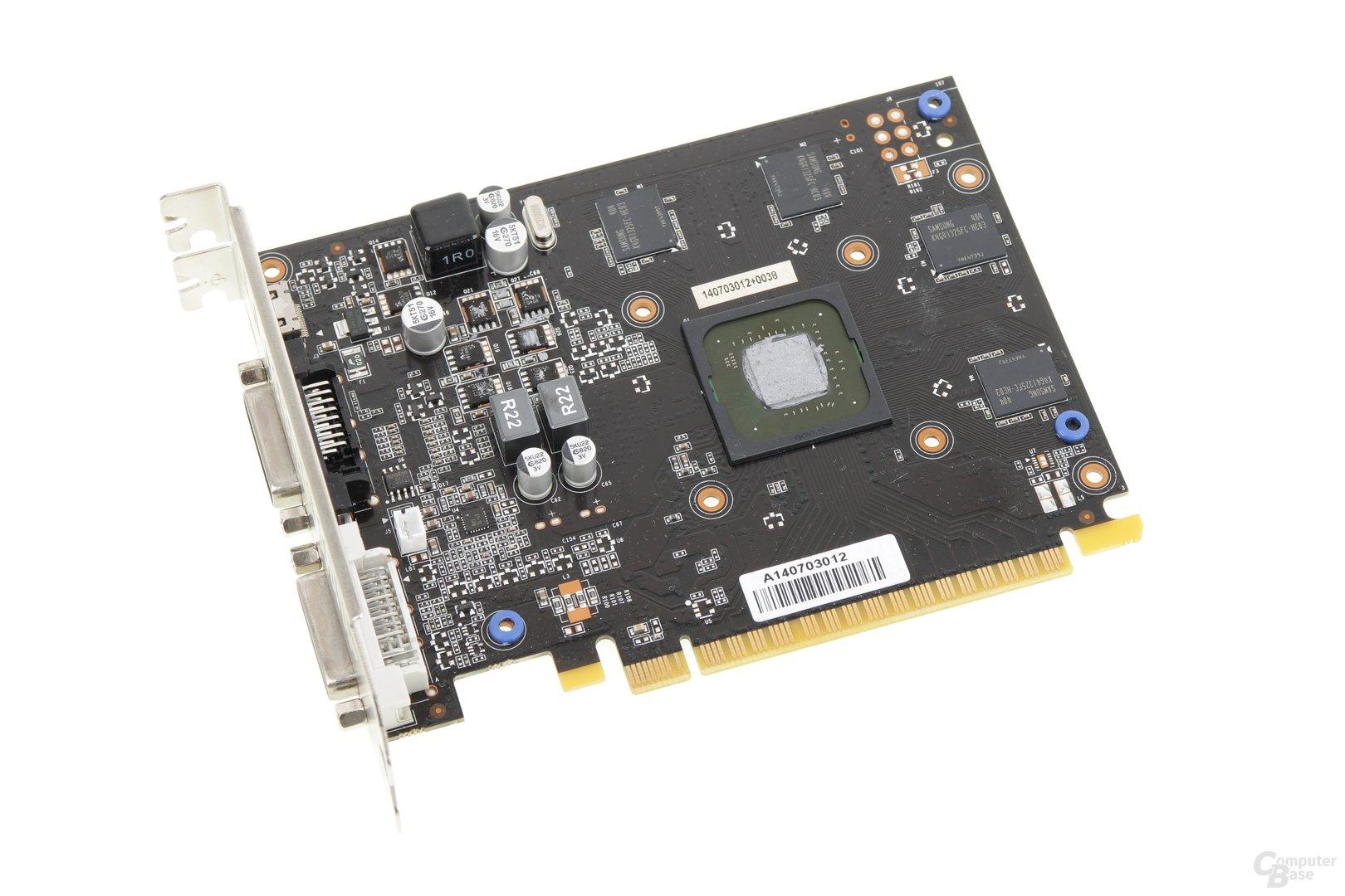 Palit GeForce GTX 750 Ti KalmX - ohne Kühler
