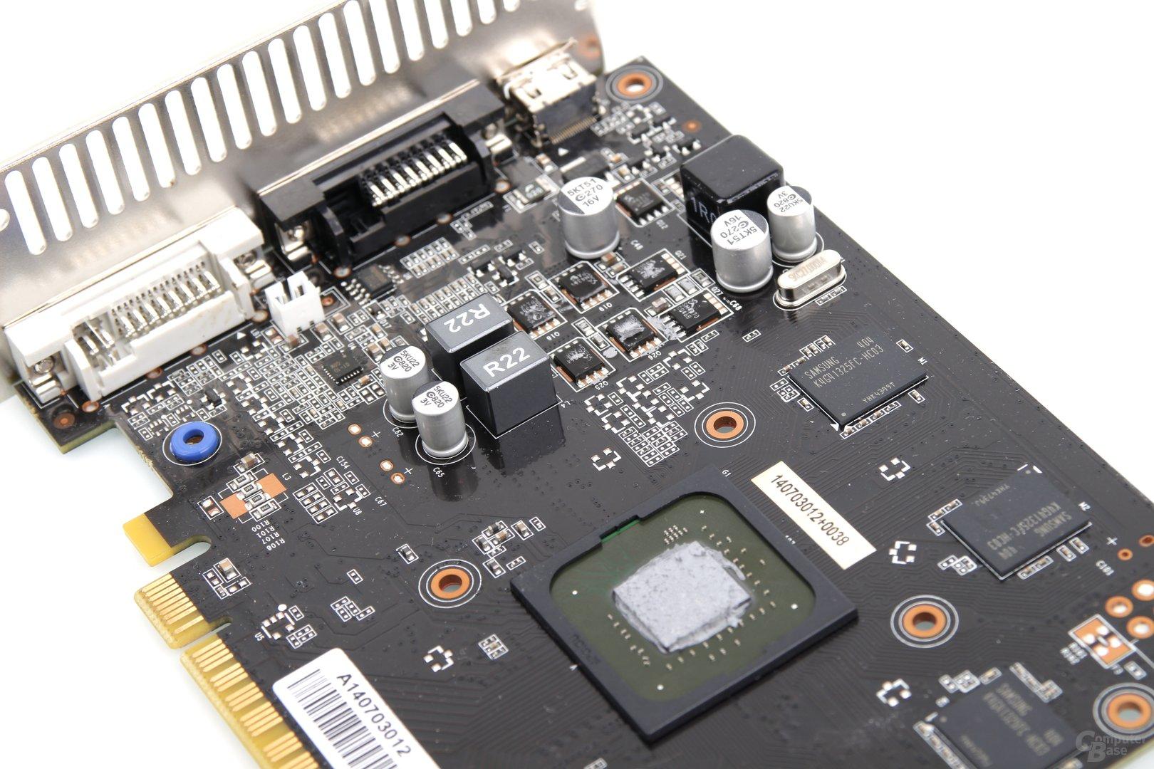 Palit GeForce GTX 750 Ti KalmX - Stromversorgung