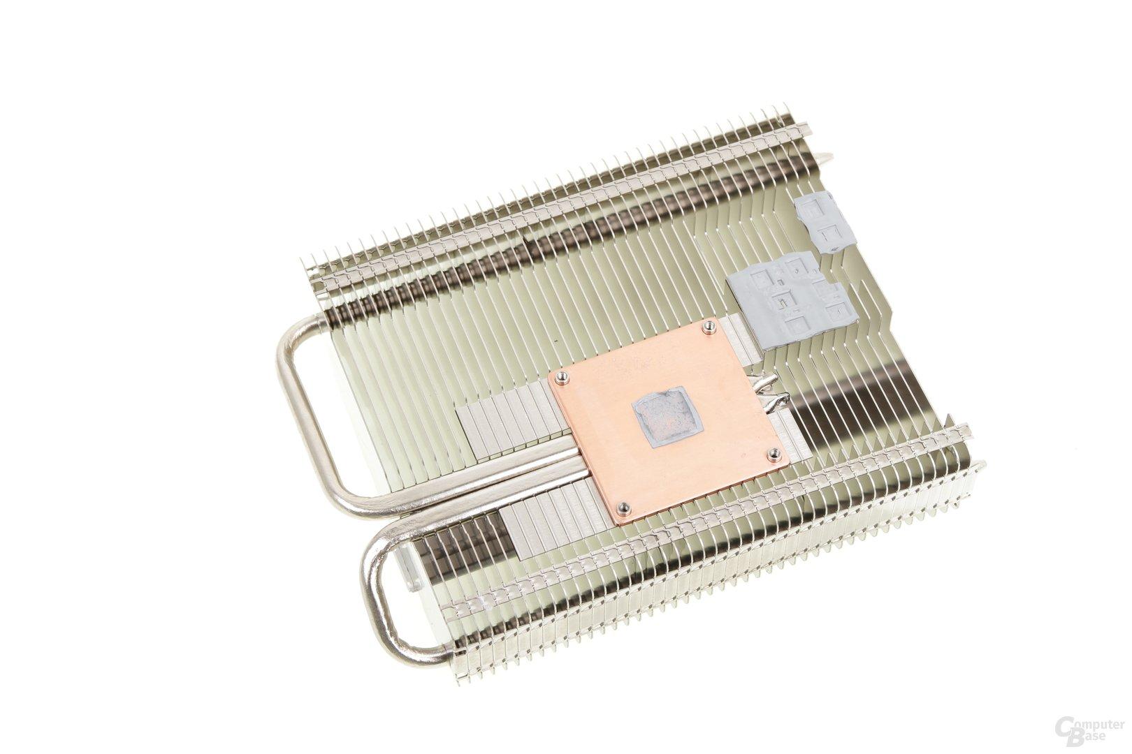Palit GeForce GTX 750 Ti KalmX - Kühlerrückseite