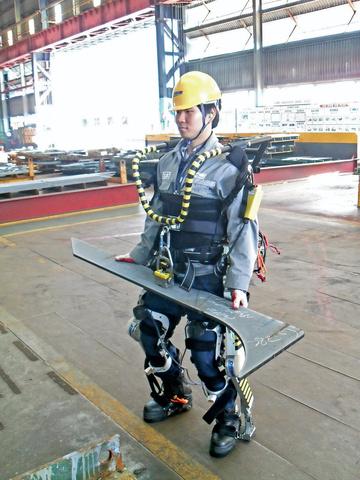 Daeweo Exoskelett im Einsatz
