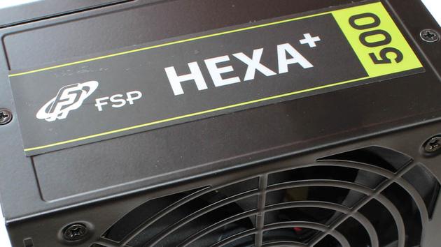 FSP Hexa+ 500 Watt im Test: Effiziente 0,5 kW für preiswerte Rechner