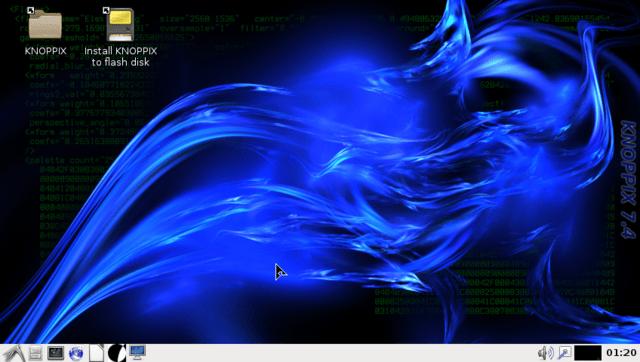 Knoppix 7.4 Desktop