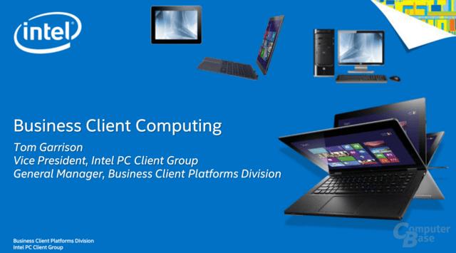 Intels Business Client Platforms Division
