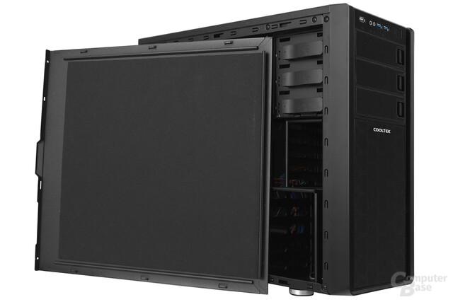 Cooltek Antiphon Airflow - Bitumen an den Seitenwänden