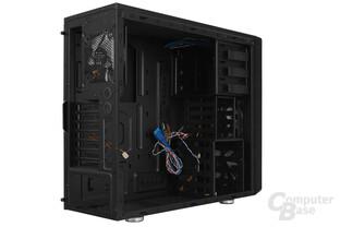 Cooltek Antiphon Airflow - Seitliche Innenraumansicht