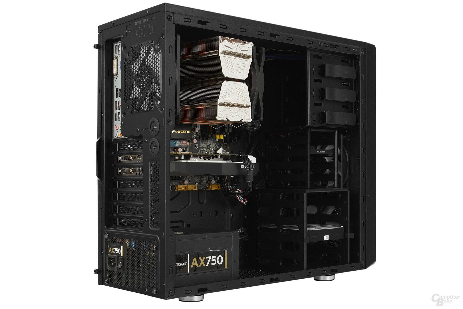 Cooltek Antiphon Airflow - Testsystem seitlich