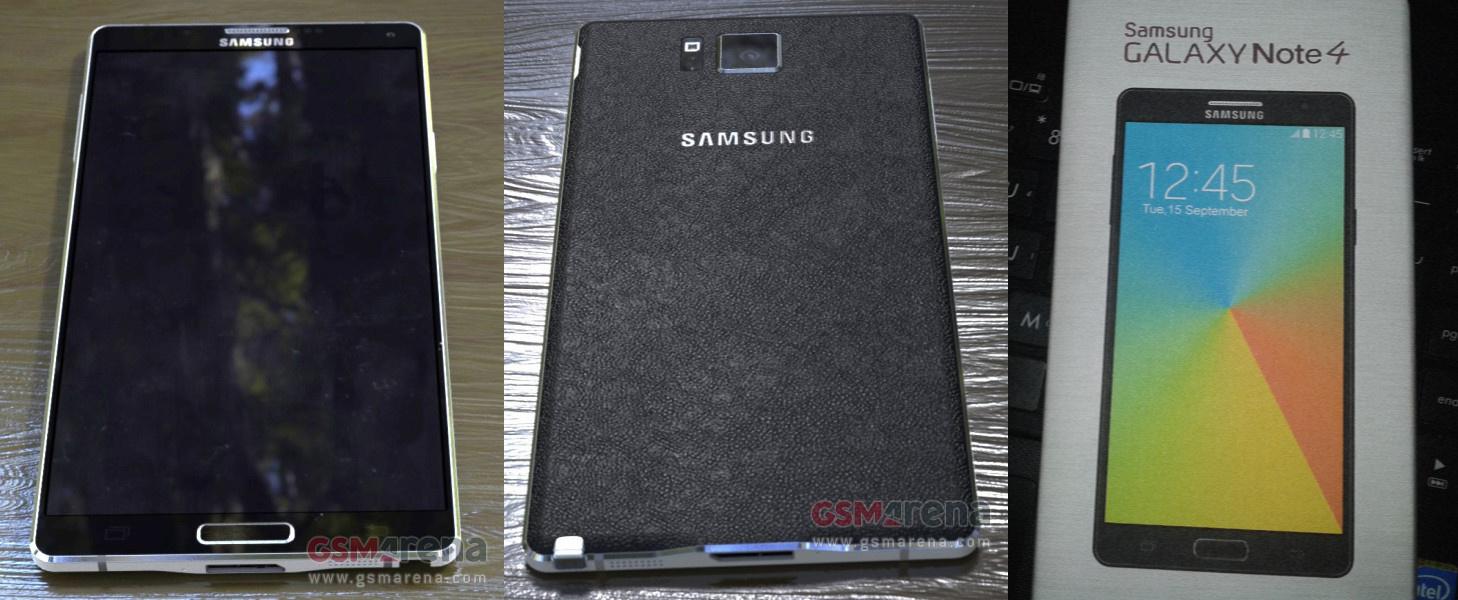 Vermeintliches Samsung Galaxy Note 4