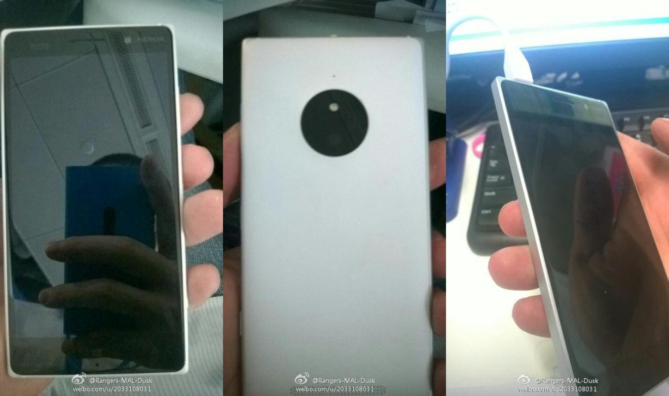 So soll das Lumia 830 aussehen