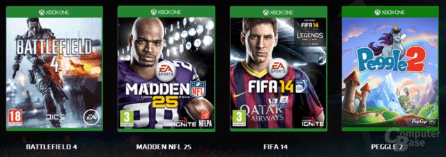 Die ersten Spiele für Access von Electronic Arts