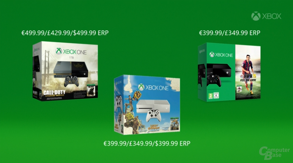 Neue Xbox-One-Bundles