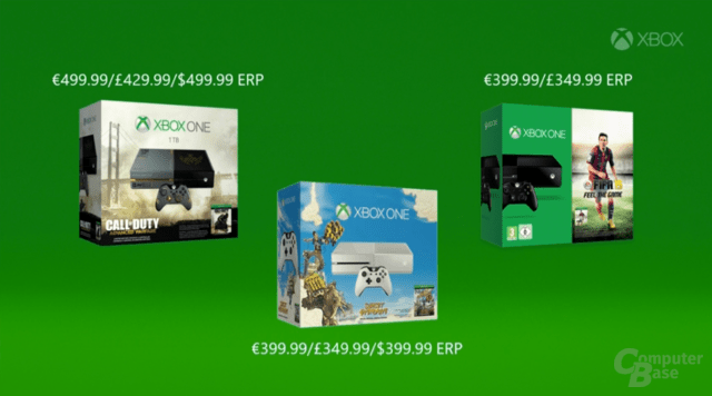 Neue Xbox-One-Bundles