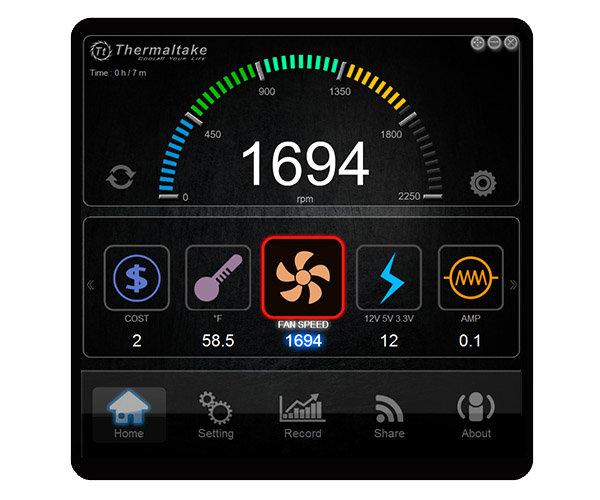 Smart DPSApp Software Lüftersteuerung