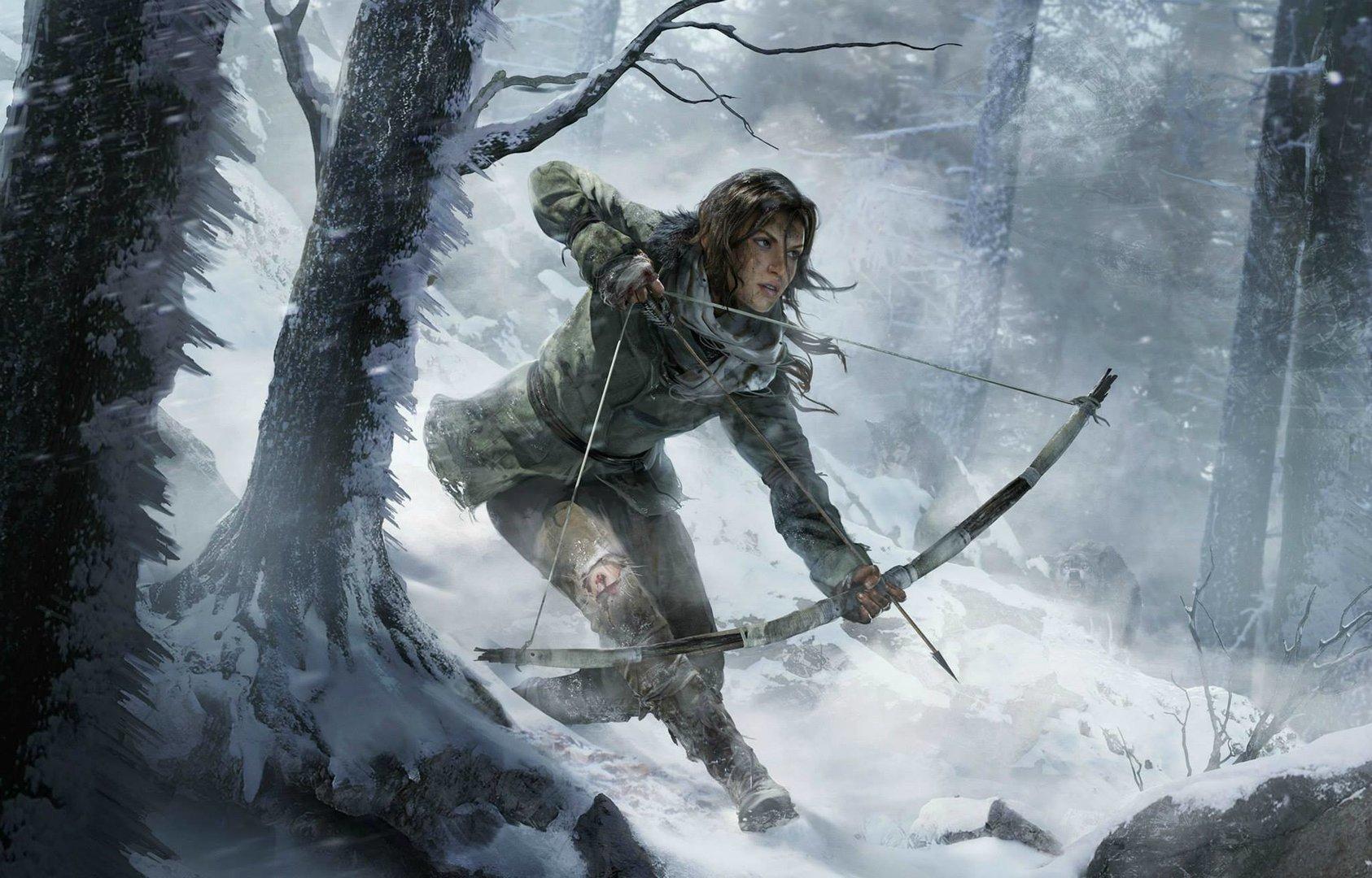 Ein erstes Artwork des nächsten Tomb Raider