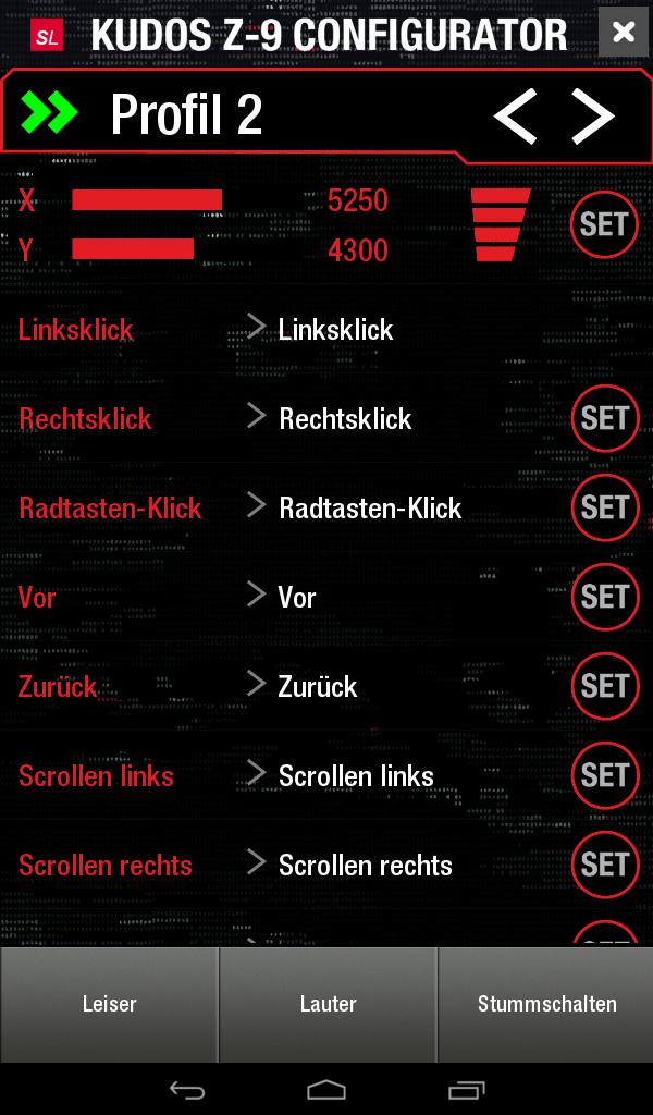 Kudos Z-9 App