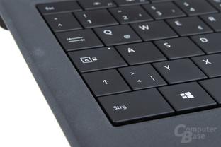 Stift und Tastatur sind unverzichtbar
