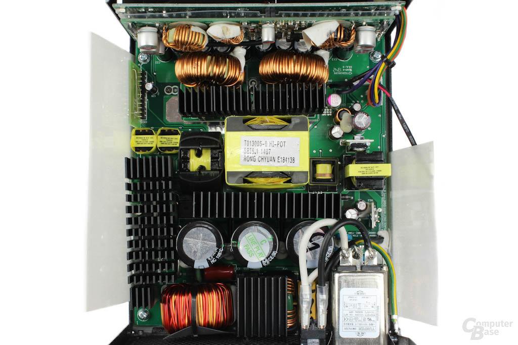 Enermax Platimax 1300W – Überblick Elektronik