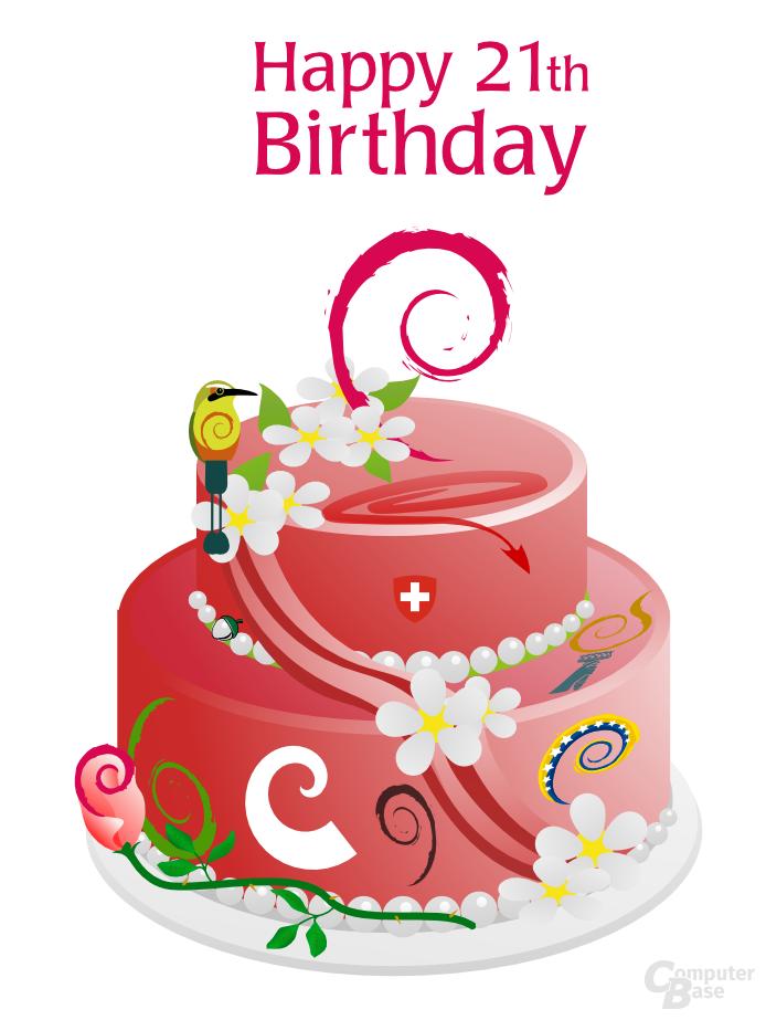 Happy Anniversary Debian