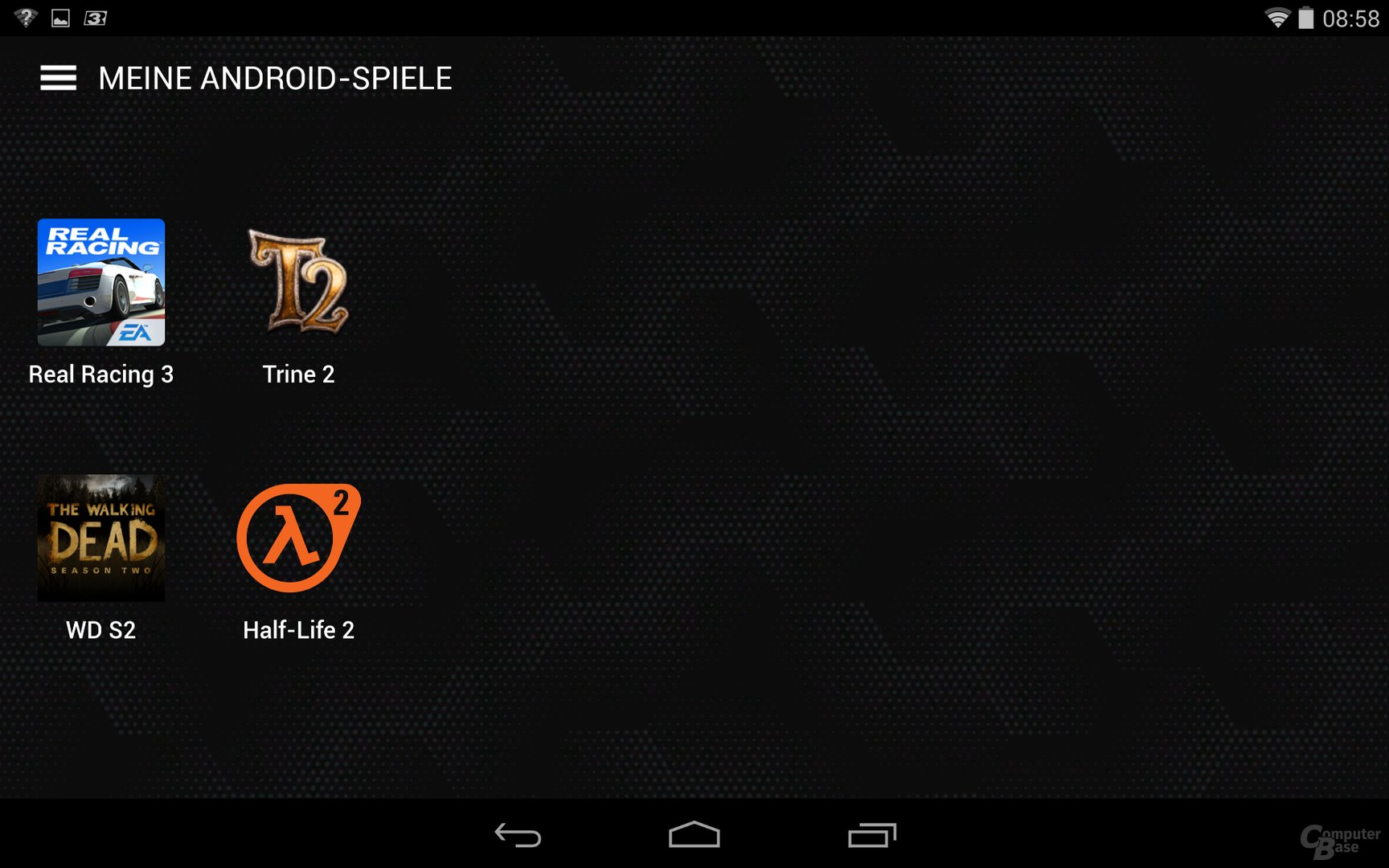 Nvidia Shield Tablet – Android-Spiele