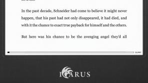 Icarus Illumina 653: E-Book-Reader wird um zahlreiche Fehler bereinigt