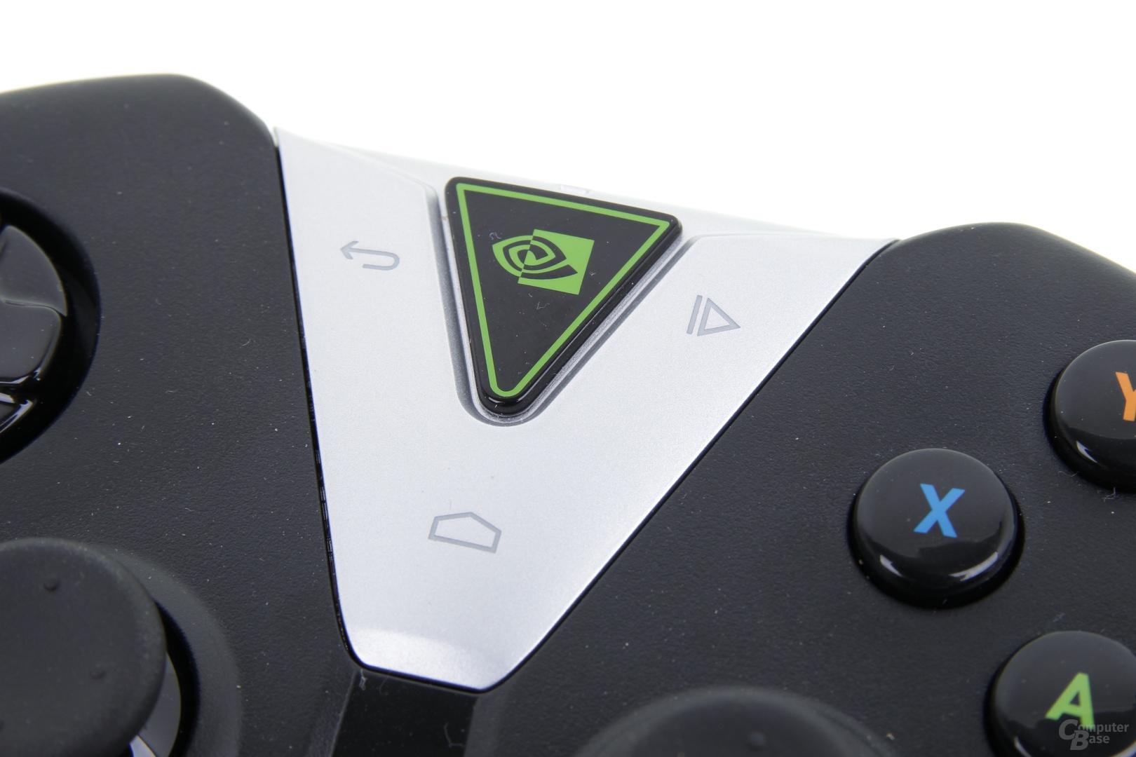 Nvidia Shield Tablet - Nvidia Logo