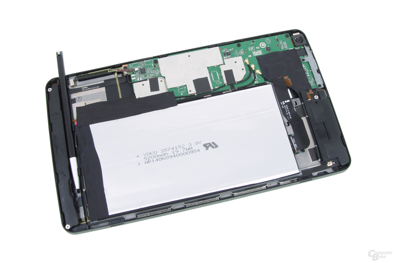 Nvidia Shield Tablet – geöffnet