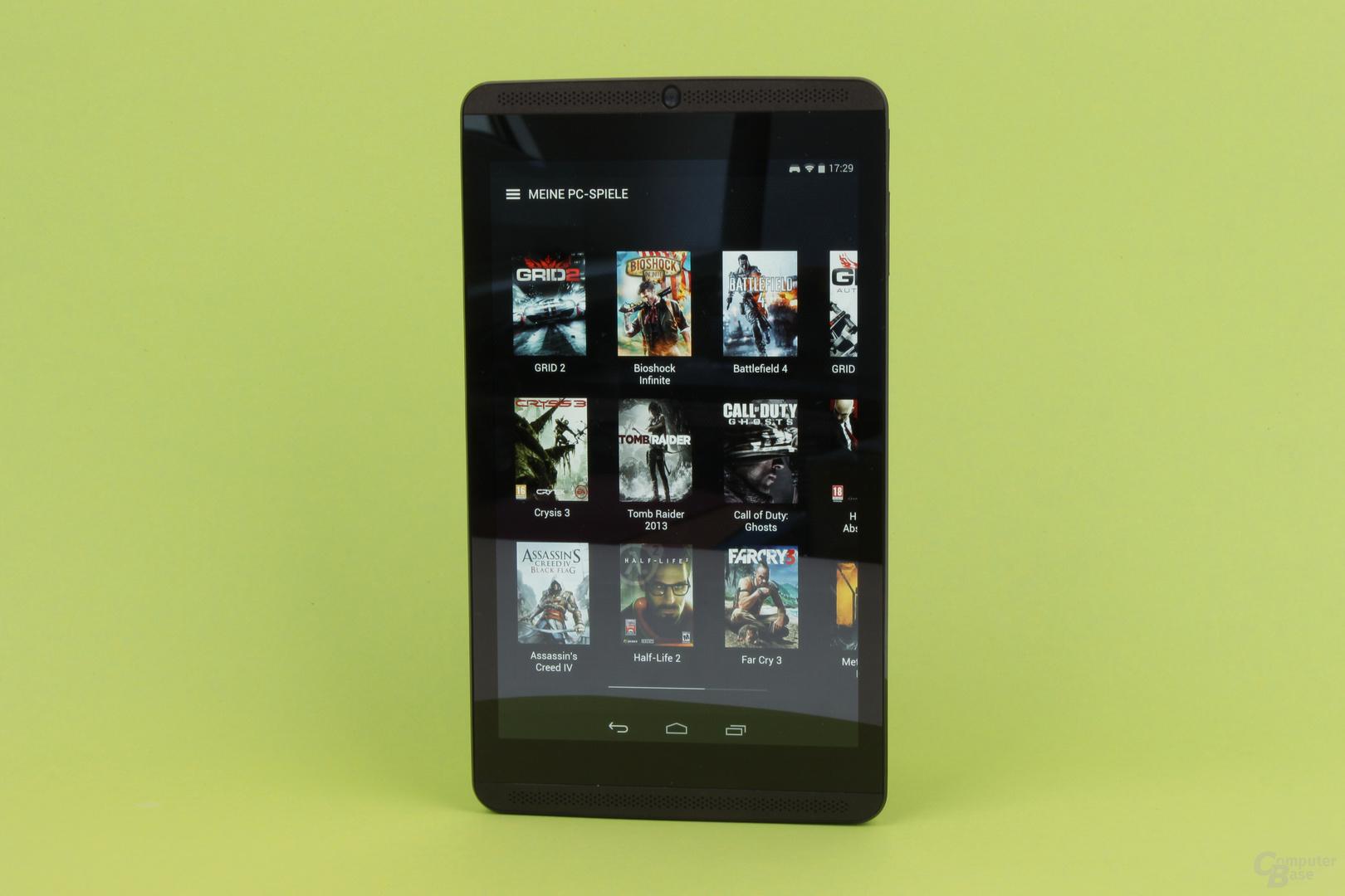 Das Nvidia Shield Tablet