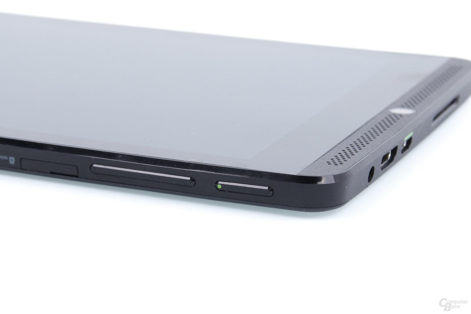 Nvidia Shield Tablet - Anschalter