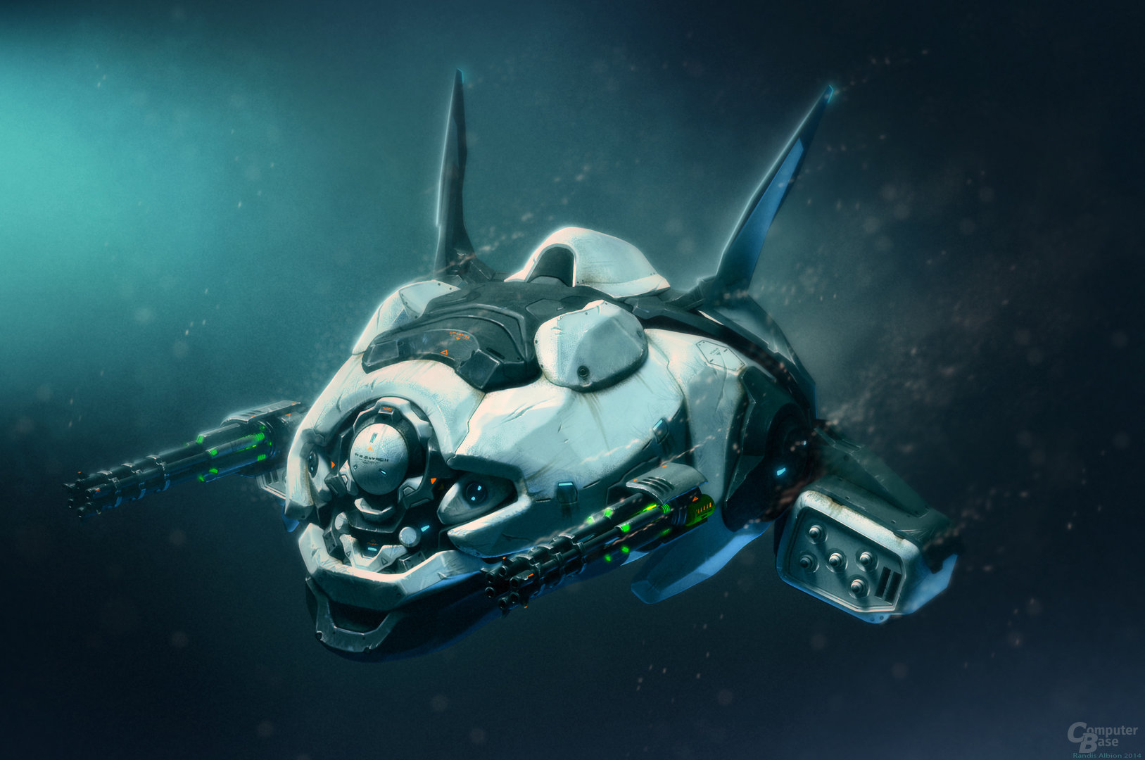 Aquanox: Deep Descent - Schiffskonzept