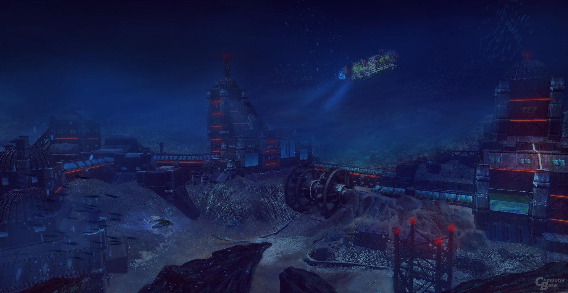 Aquanox: Deep Descent - Station