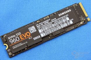 Die Samsung 960 Evo bietet das beste Preis-Leistungs-Verhältnis bei PCIe-SSDs mit NVMe
