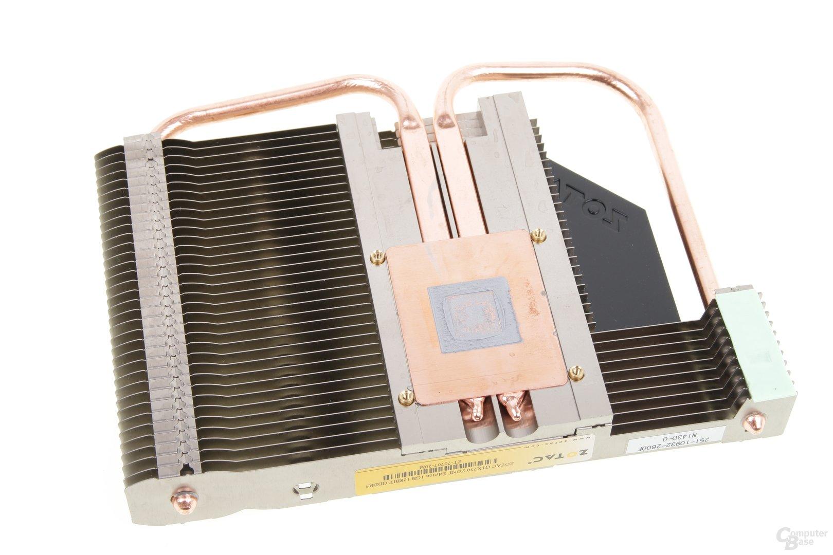 Zotac GeForce GTX 750 Zone - Kühlerrückseite