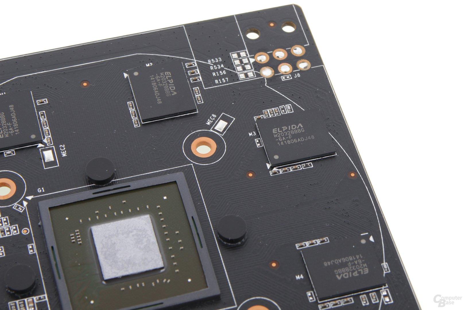 Zotac GeForce GTX 750 Zone - Speicher