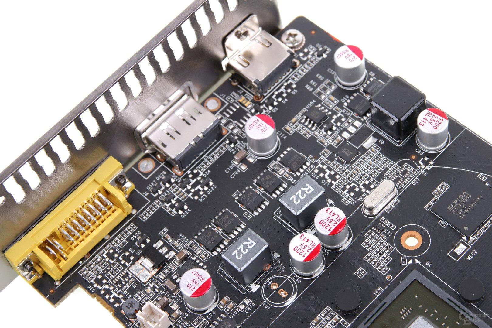 Zotac GeForce GTX 750 Zone - Stromversorgung