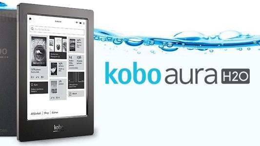 Kobo Aura H2O: Wasserdichter E-Book-Reader mit hoher Auflösung