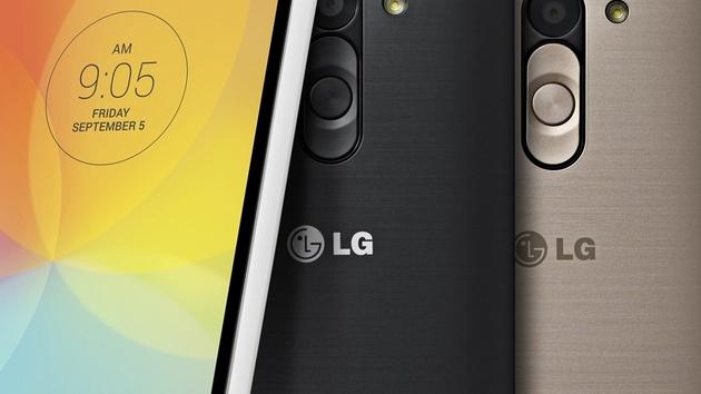 LG Fino und Bello: KitKat-Smartphones für unter 200 Euro zur IFA