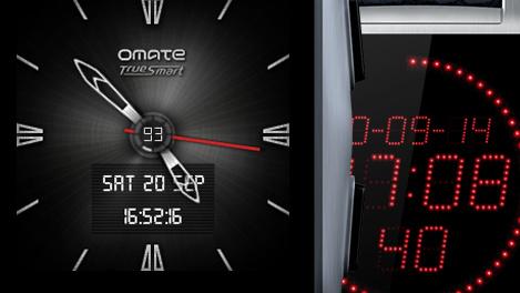 Omate X: Smartwatch mit bis zu sieben Tagen Laufzeit