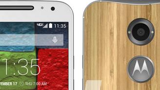 Moto X+1: Smartphone aus Alu und Holz erneut abgelichtet