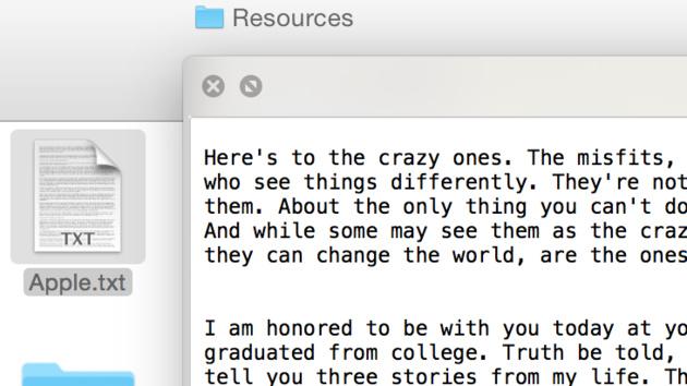 Easter Egg: In vielen Macs steckt eine Rede von Steve Jobs