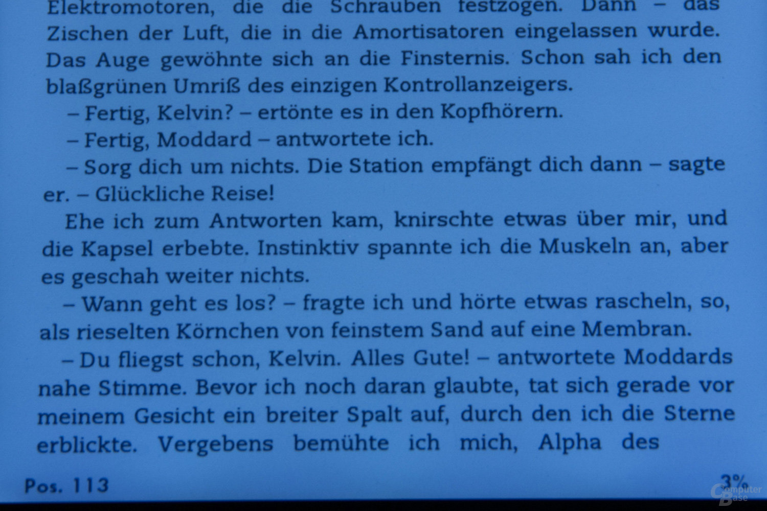 Beleuchtung Amazon Kindle Paperwhite