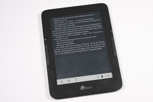 Icarus Illumina E653 Invertierungsprobleme bei Reader App