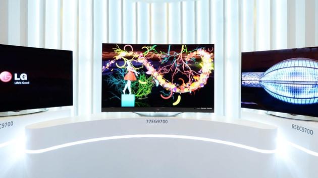 OLED-TV: LGs gebogene OLED-TVs mit UHD starten bei 9.000 Euro