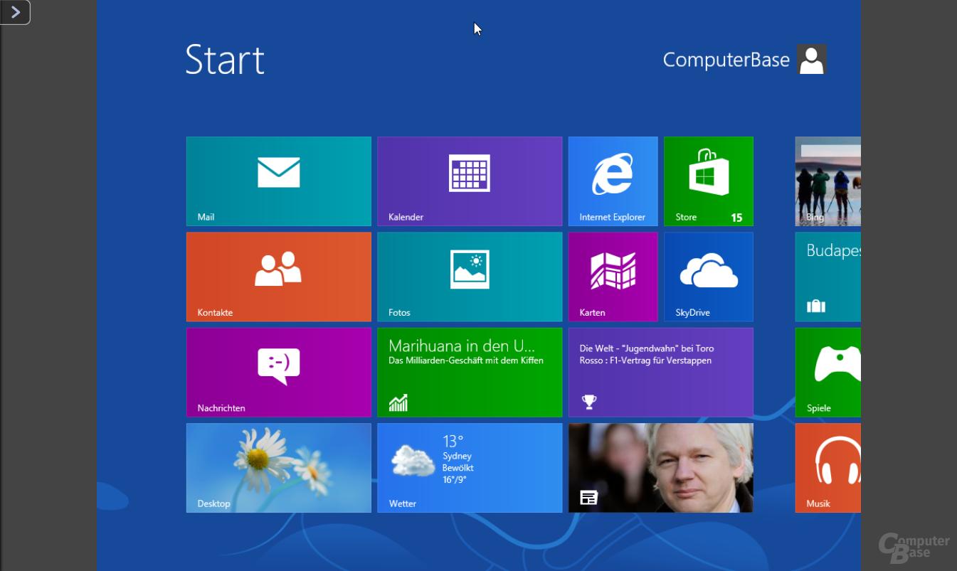 Windows 8 auf der QNAP TS-451